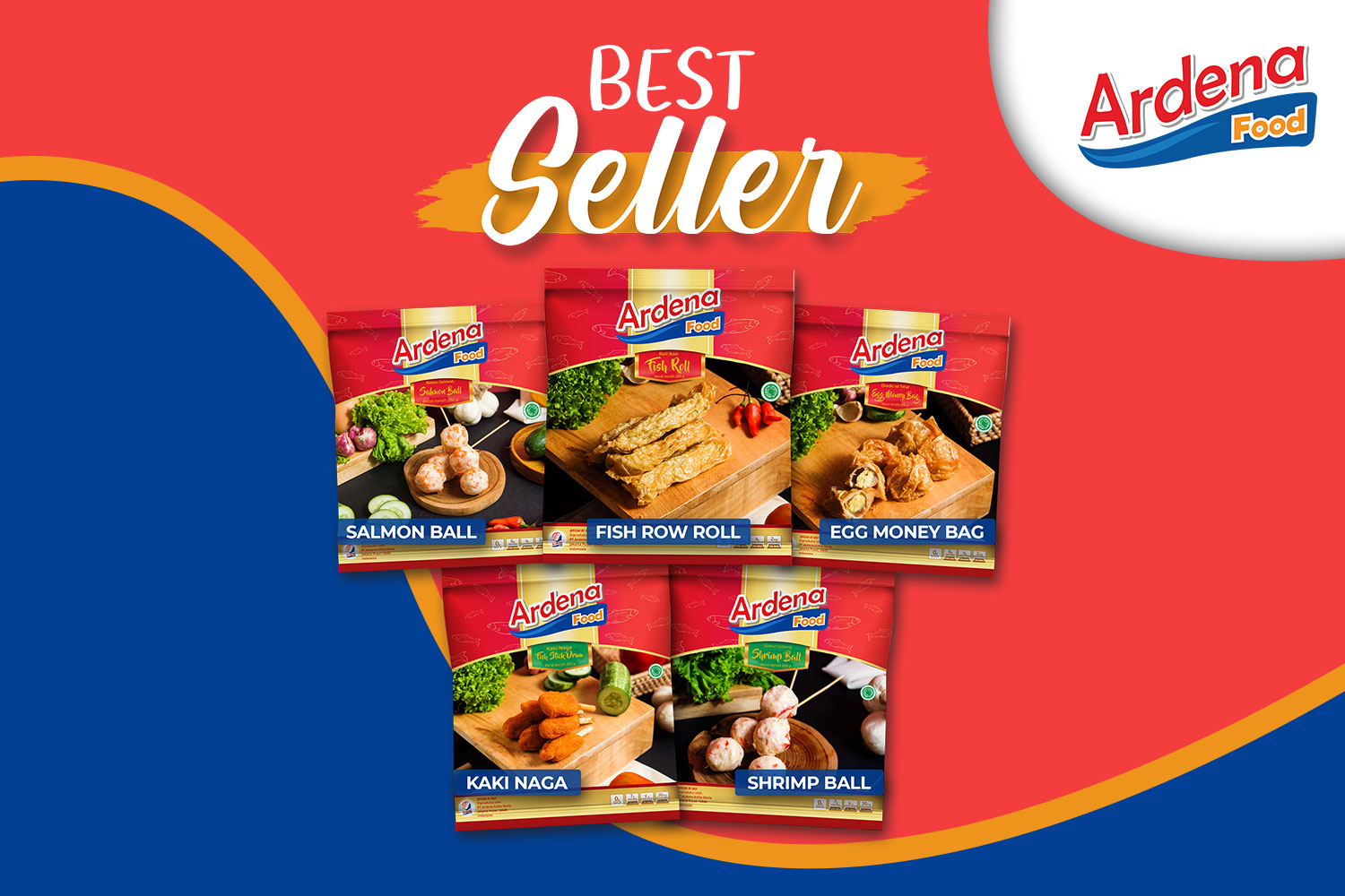 Mom's Choice: Ardena Frozen Food